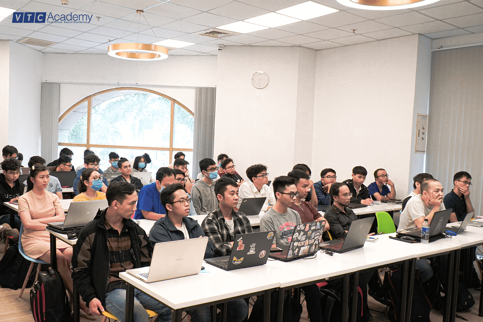 VTC Academy organized many activities to learn about Artificial Intelligence (AI) in Ho Chi Minh City in March 2021