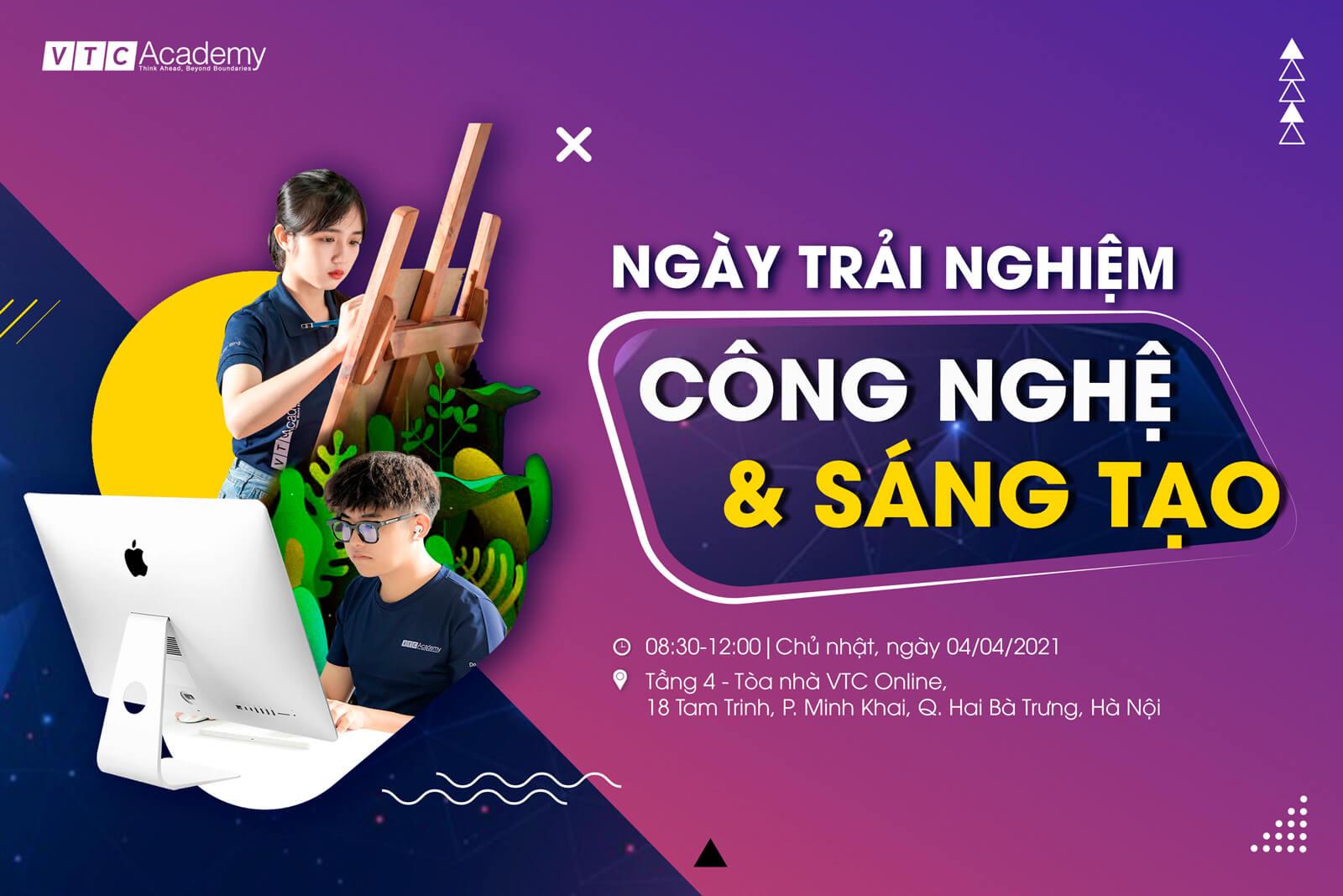 """Ngày trải nghiệm """"Công nghệ và Sáng tạo 2021"""" tại Hà Nội"""