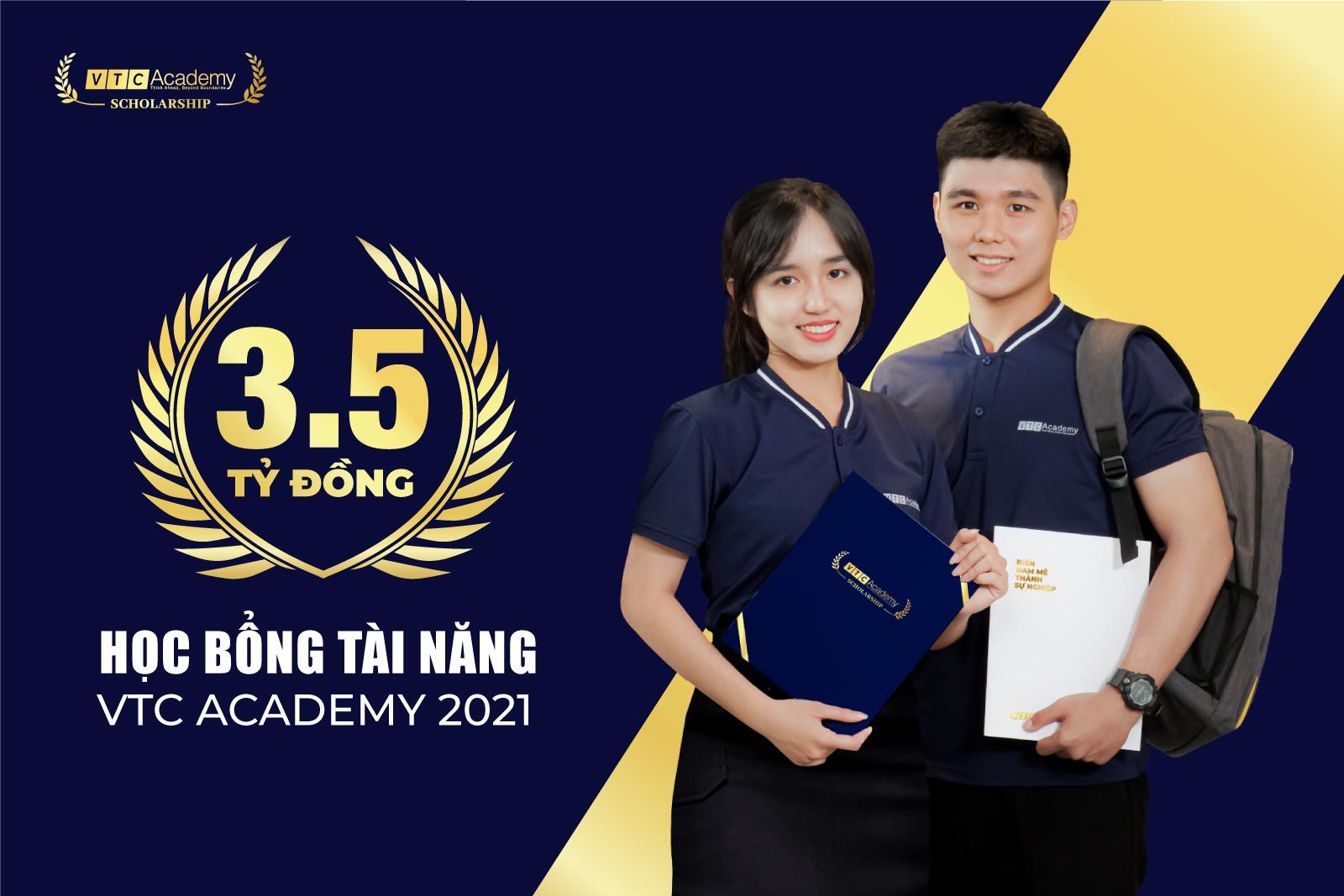 """VTC Academy khởi động chương trình """"Học bổng Tài năng 2021"""" tổng trị giá 3,5 tỷ đồng"""