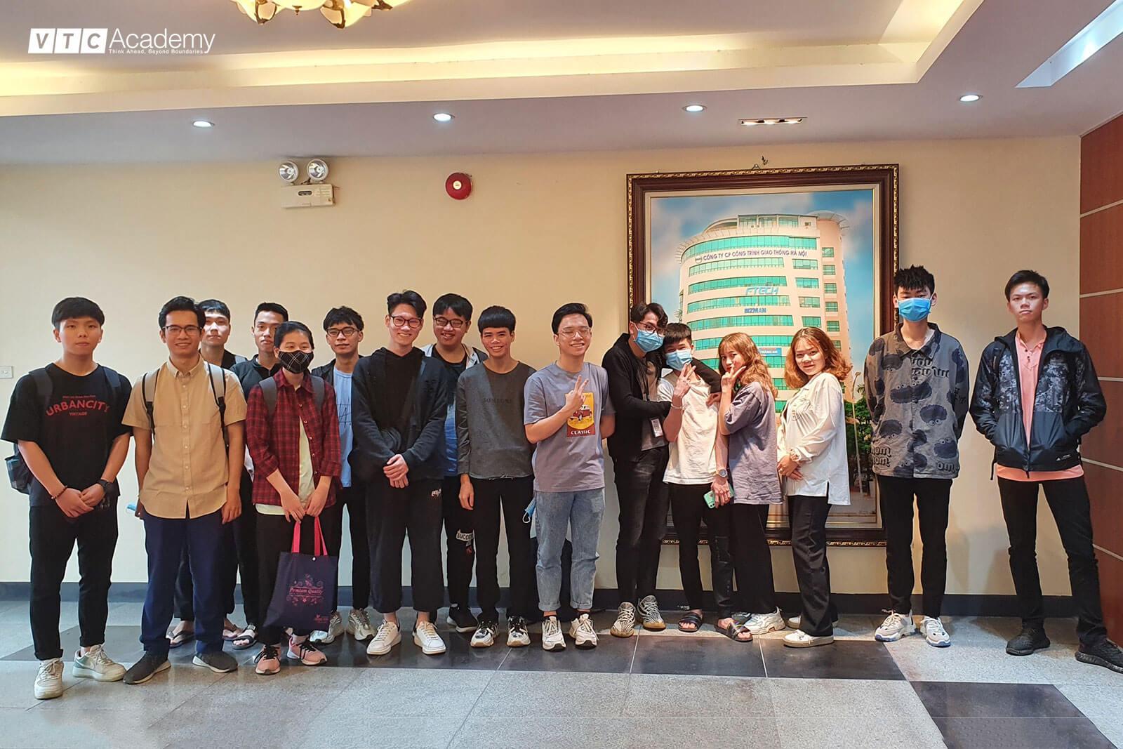 VTC Academy tổ chức chuyến thăm doanh nghiệp Ftech dành cho học viên Hà Nội