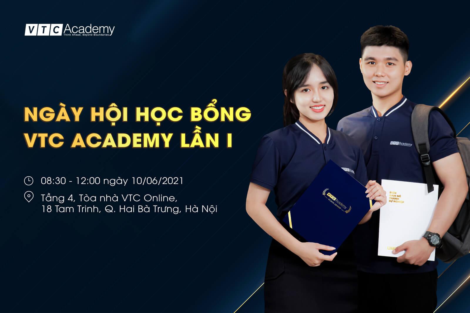 Ngày hội học bổng VTC Academy 2021 – Vòng Chung khảo đợt 1