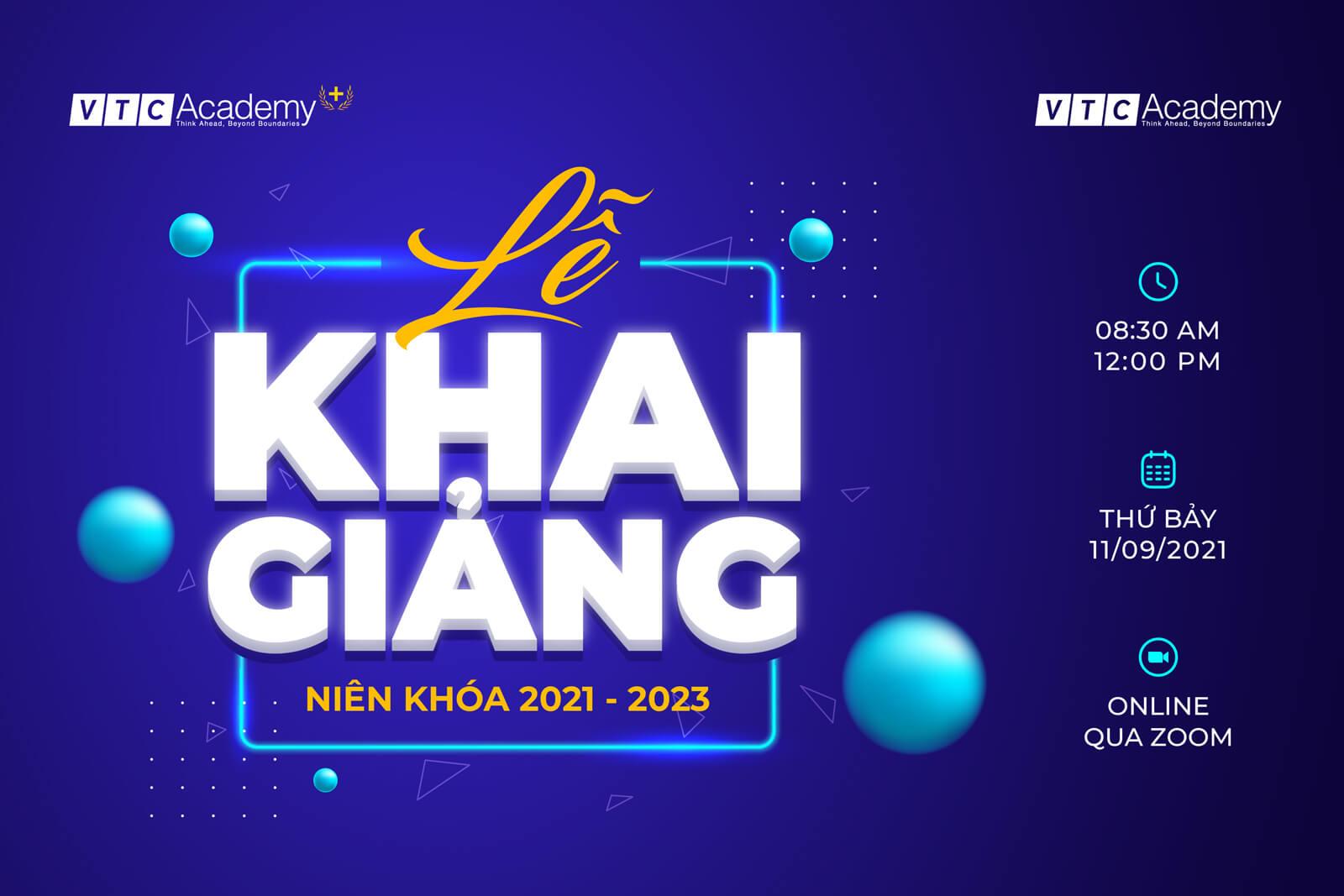 Lễ khai giảng niên khóa 2021 – 2023